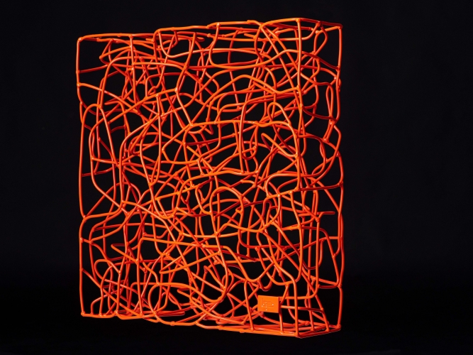 Wireless -Traffic Red - 40 x 40 x 13 cm