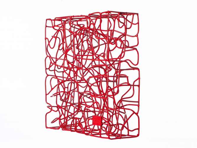 Wireless Traffic Red - 40 x 40 x 13 cm  (1)