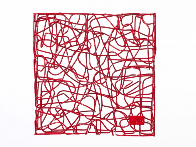 Wireless Traffic Red - 40 x 40 x 13 cm