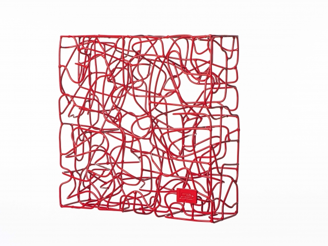 Wireless Traffic Red - 40 x 40 x 13 cm  (6)